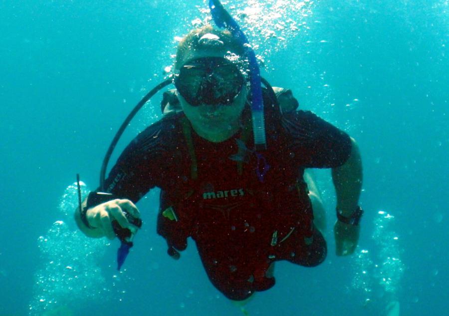 me closeup @ Key Largo Reef