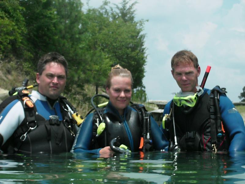 Open Water Certified !