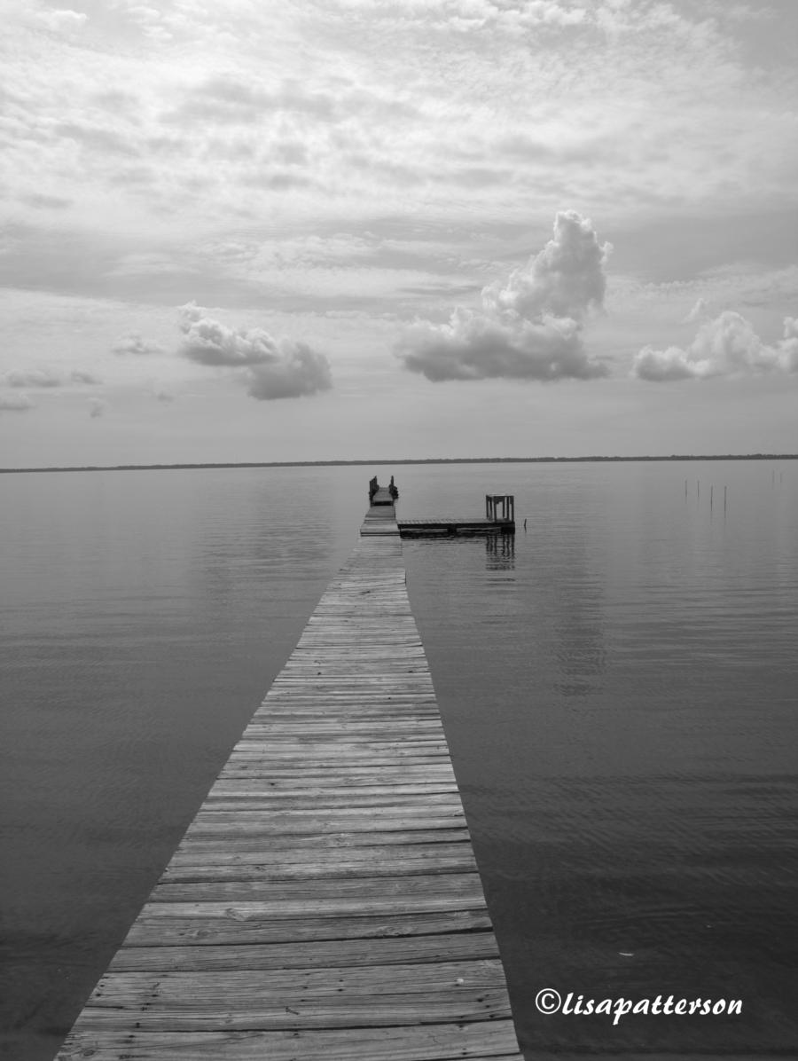 weathered pier