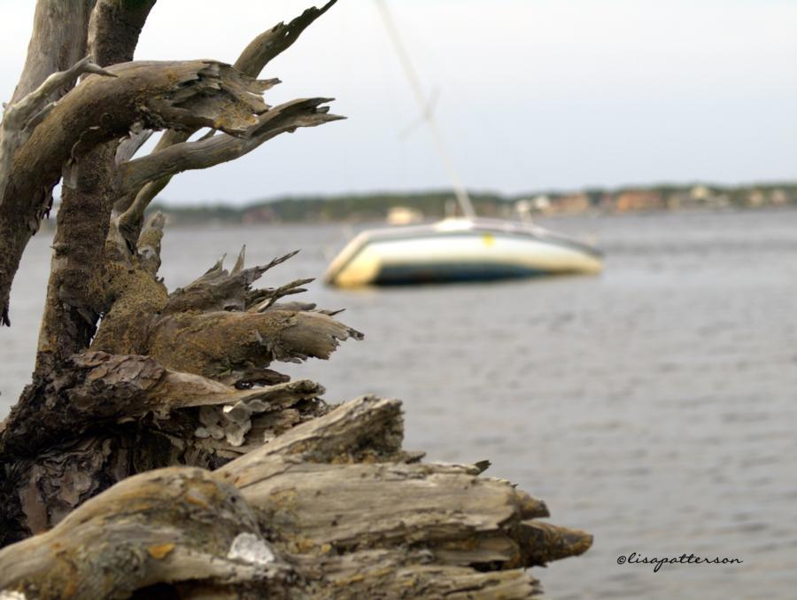 sailboat mishap