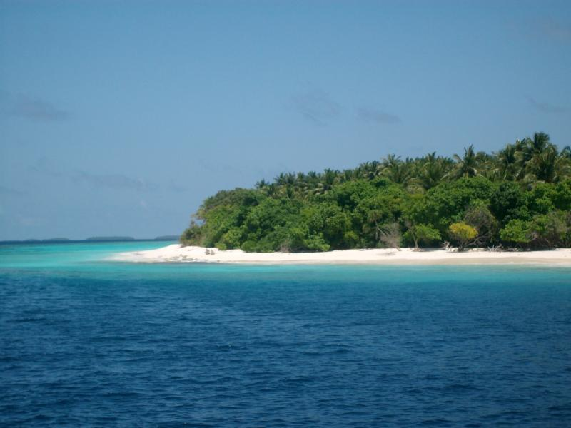 the beautiful islands in the Maldives