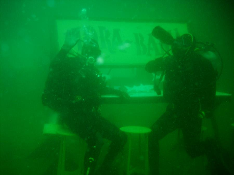 Drinking & Diving on Joe Patti Reef 22hrs after hitting the bottom