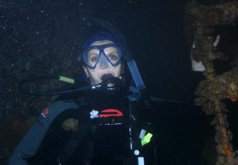 Me in Roatan - Prince Albert wreck