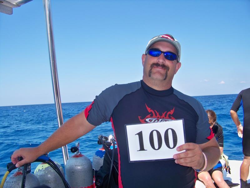 My 100th Dive !!!! Cozumel MX