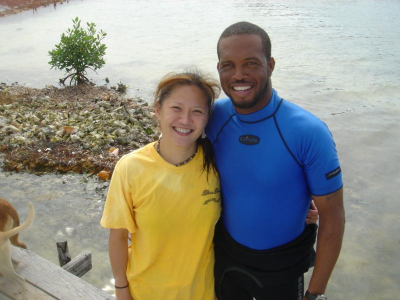 Dive Master in Balize - Blue Hole