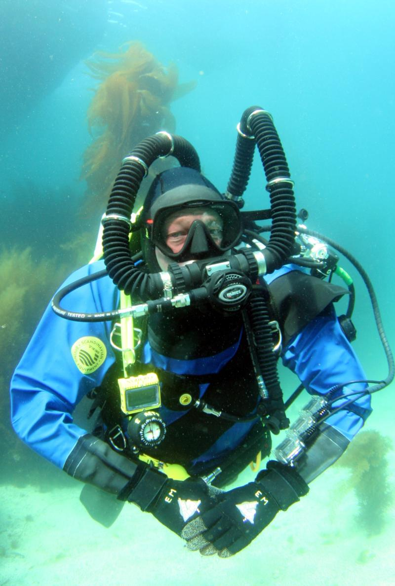 First day on a rebreather