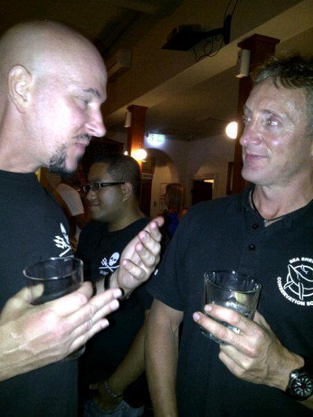 Me with Simon Ager