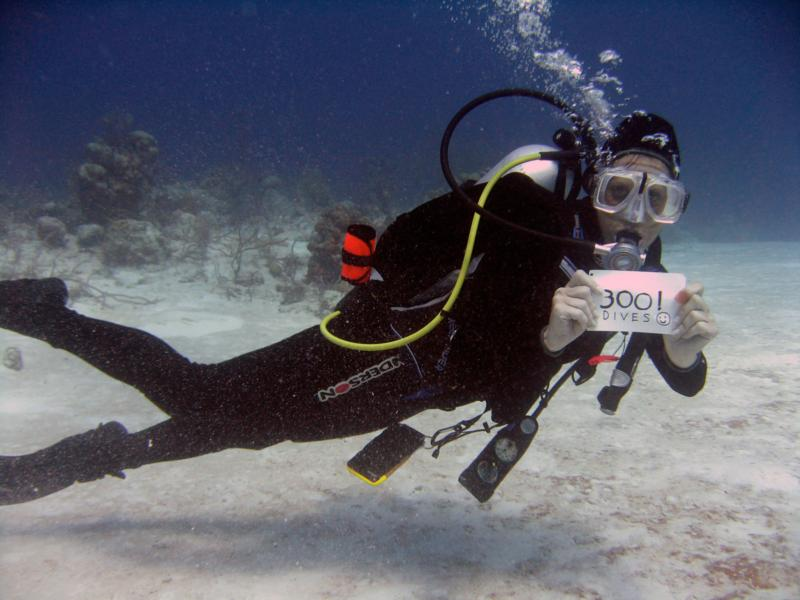 My 300th Dive!