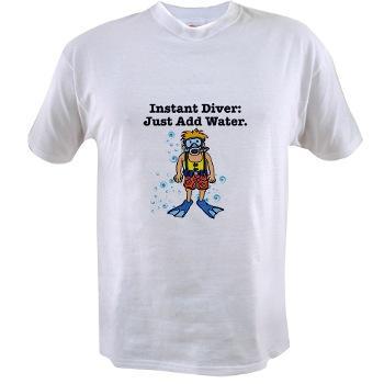 Instant Diver t-shirt