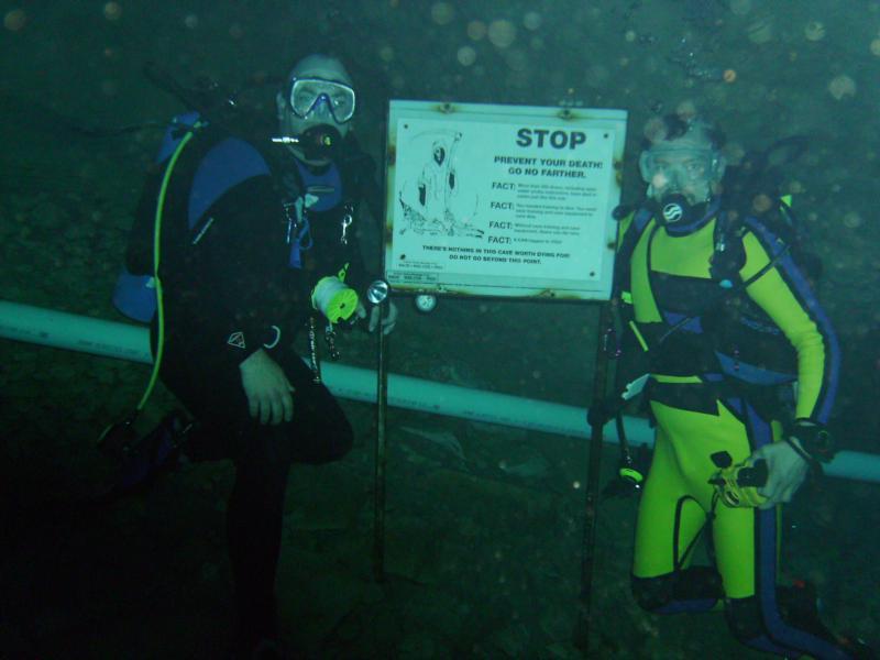 David and I at Vortex
