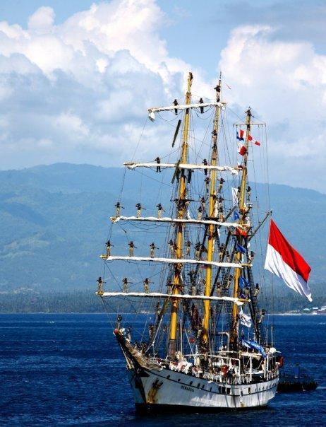 Indonesian NAVY tall ship