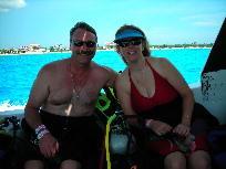 My beautiful wife Debbie in Cozumel