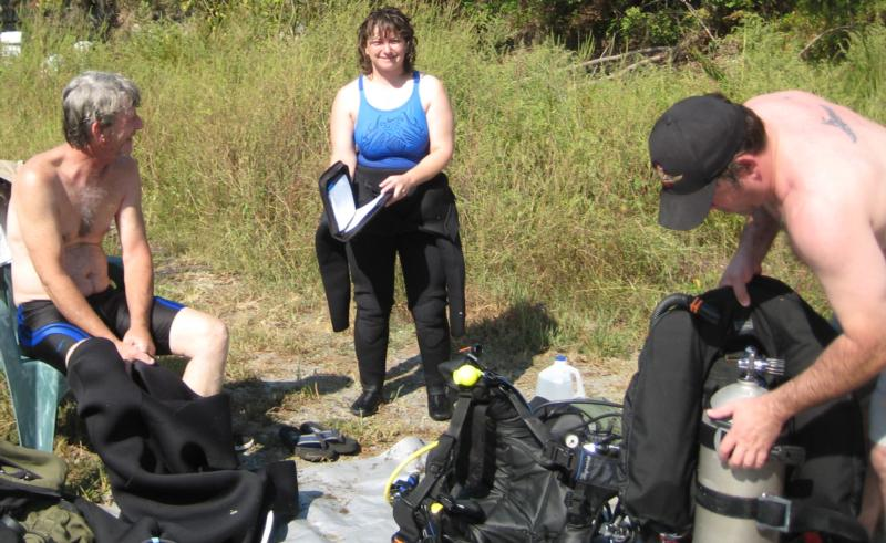 Final Exercises for Rescue Diver