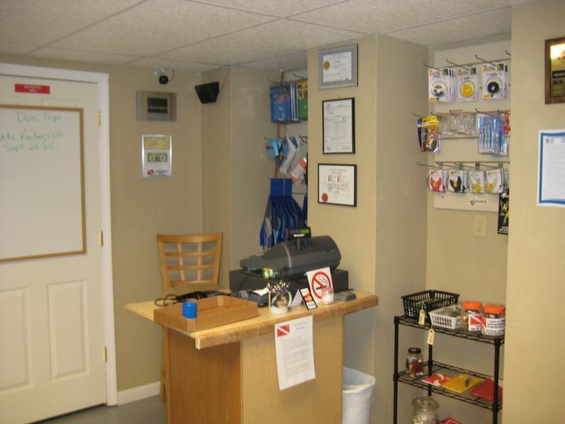 Cash Register Area